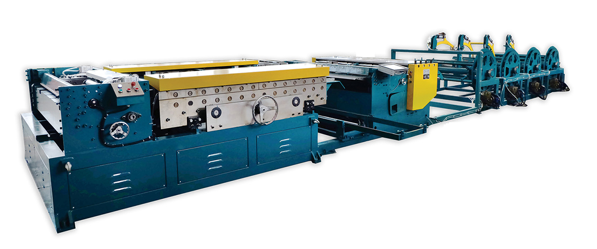 auto line duct machine