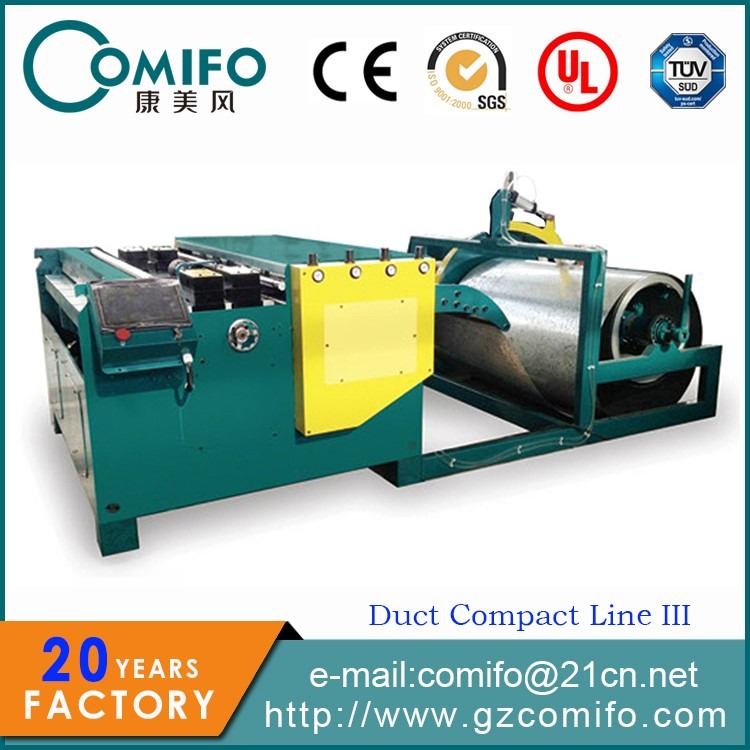 Hvac Duct Machine Production