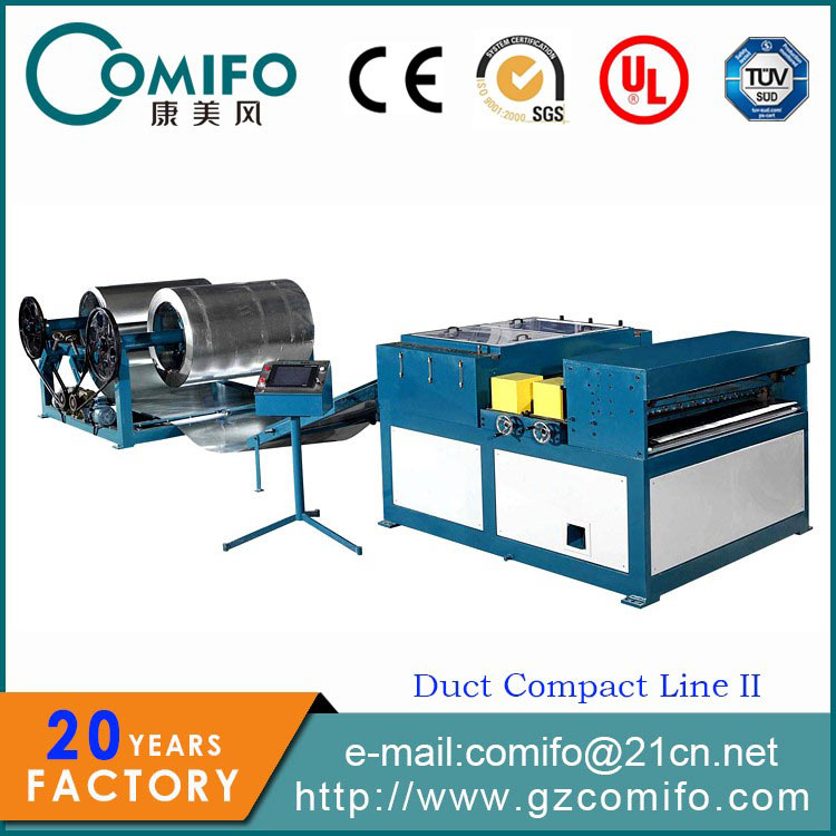 Duct Compact Line IIduct roll forming machine