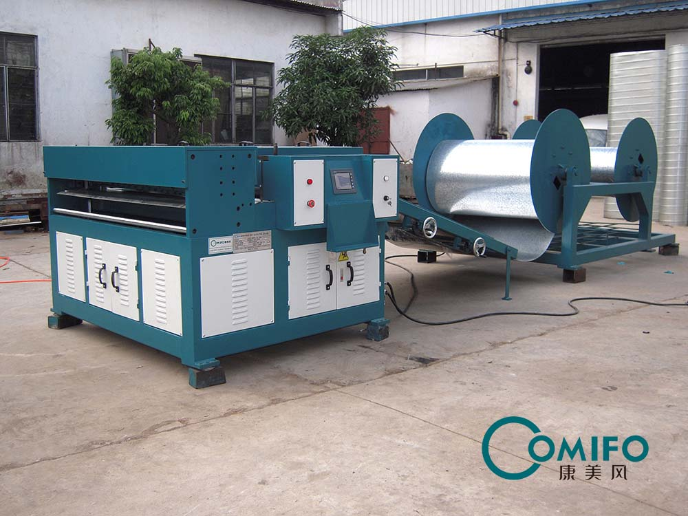 Air duct production line