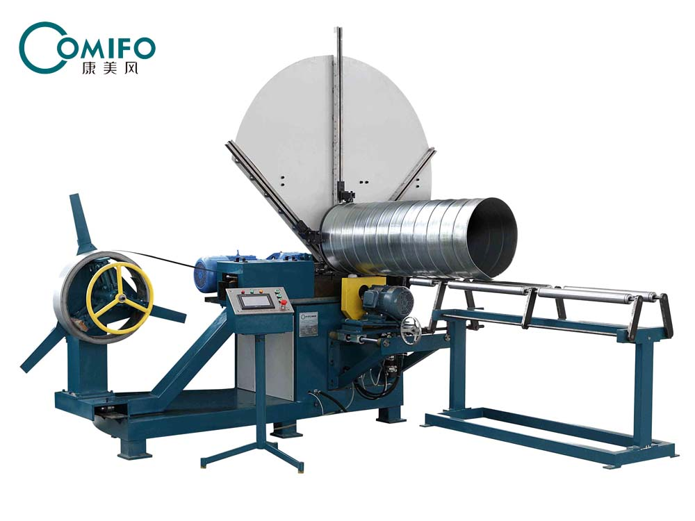 sprial duct forming machine