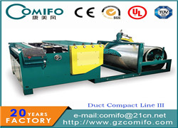 air duct manufacturing machine