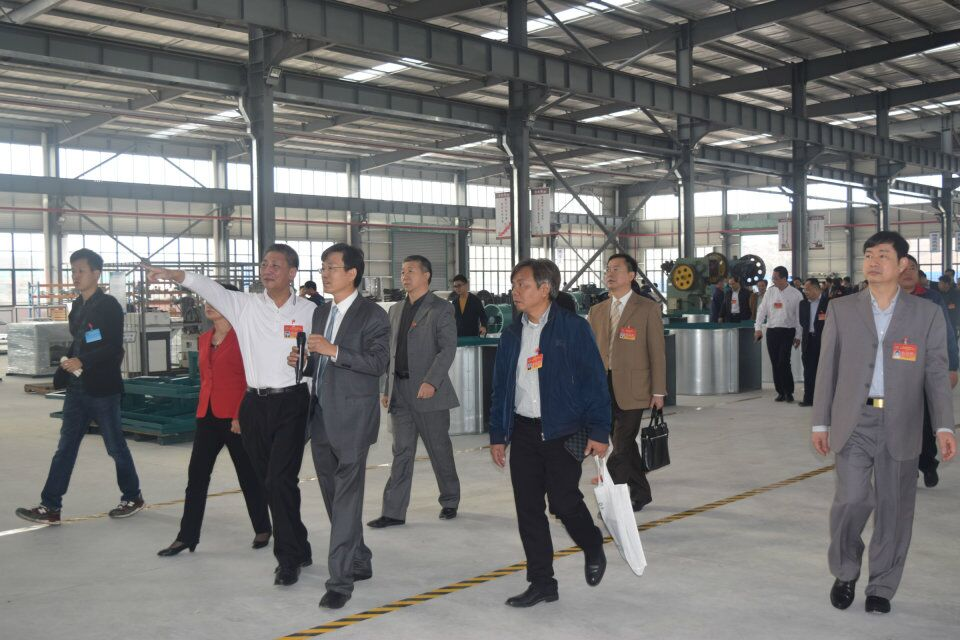 The CPPCC Visited COMIFO Factory